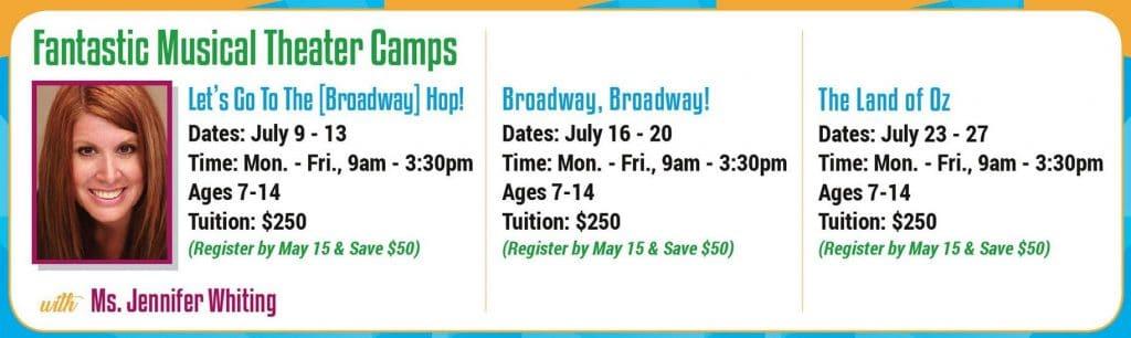 Fountain Hills Theater Summer Camp in Arizona