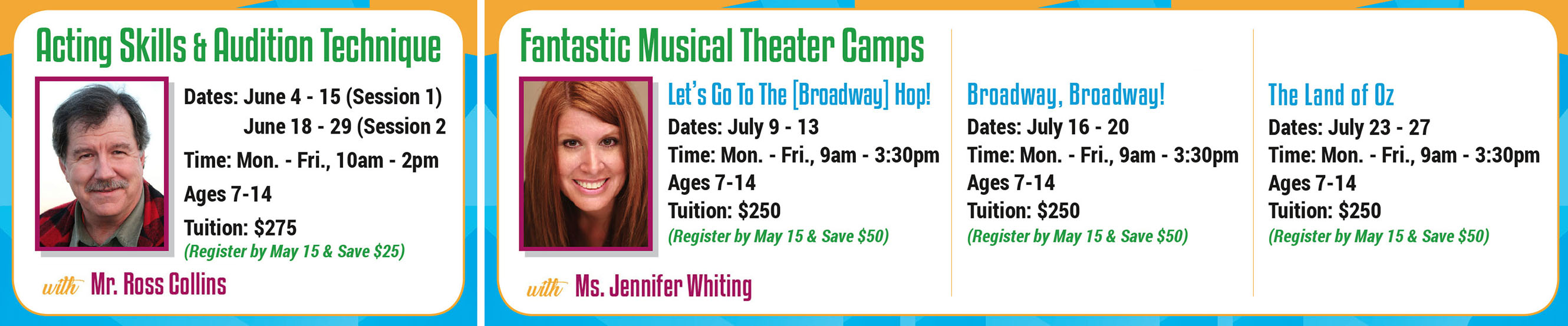 Fountain Hills Theater Summer Camp in Arizona