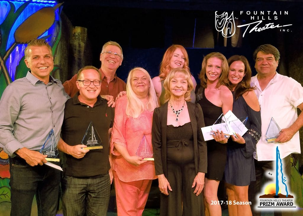 2017-18 Prizm Award recipients at Fountain Hills Theater